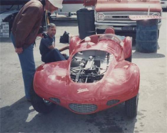 "Jarl De Boer's Giaur-Crosley 750cc at Laguna Seca circa 1996.<br /> Photo scanned by Cliff Reuter :: <a href=""http://www.cliffreuter.com/etceterinihomepage.htm"">http://www.cliffreuter.com/etceterinihomepage.htm</a>"