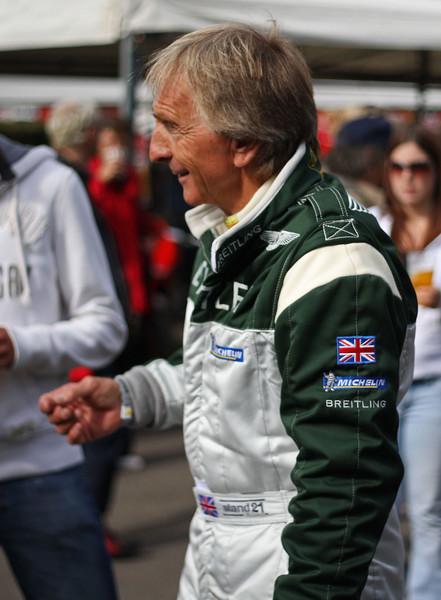 Derek Bell, 6 times winner of Le Mans