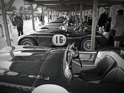 Goodwood Revival Sept 2013 006 B & W