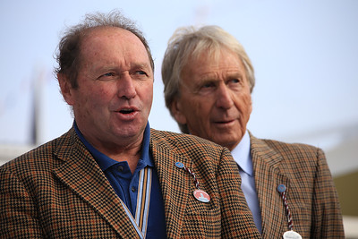 Jochen Mass and Derek Bell