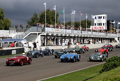 Start of the Madgwick Cup Race