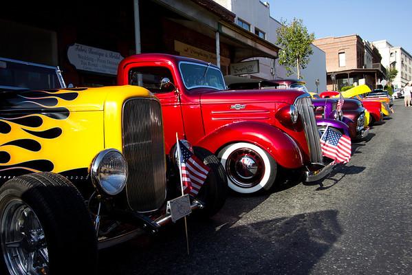 Grass valley Car Show 2013