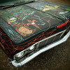 Greaserama car show at Boulevard Drive In Theater KC, Ks