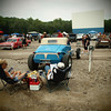 Greaserama car show at Boulevard Drive In Theater KC, Ks