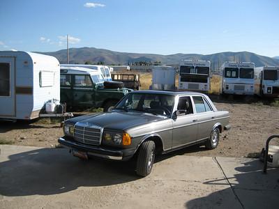 (Sold) 1981 300D Mercedes