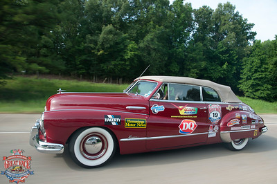 Great Race 2013--Day 7, Vicksburg, MS to Baton Rouge, LA