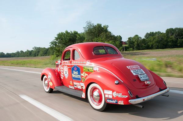 Great Race--Day 4, Hannibal, MO to Cape Girardeau, MO
