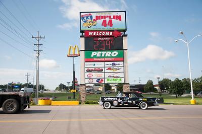 Sunday June 21--Springfield, MO to Oklahoma City, OK
