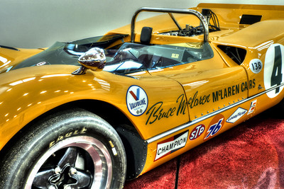 The legendary McLaren M6A/1, the car that Bruce McLaren himself piloted to a Can-Am series championship in 1967.