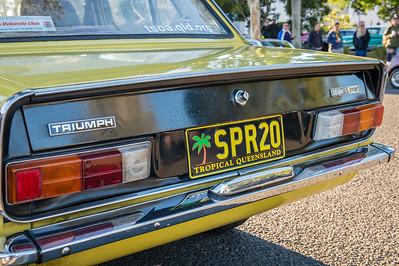 Triumph Dolomite Sprint - Cars & Coffee, Brisbane. Saturday 5 August 2017. Photos by Des Thureson - http://disci.smugmug.com