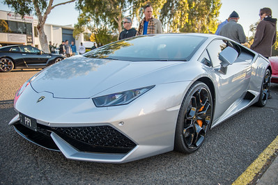 Lamborghini - Cars & Coffee, Brisbane. Saturday 5 August 2017. Photos by Des Thureson - http://disci.smugmug.com
