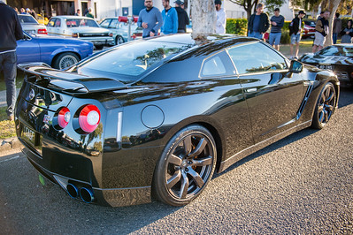 Nissan GTR - Cars & Coffee, Brisbane. Saturday 5 August 2017. Photos by Des Thureson - http://disci.smugmug.com
