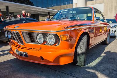 BMW 3.0 CS - Cars & Coffee, Brisbane. Saturday 5 August 2017. Photos by Des Thureson - http://disci.smugmug.com
