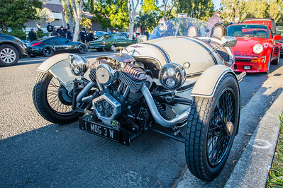 Morgan 3 Wheeler - Cars & Coffee, Brisbane. Saturday 5 August 2017. Photos by Des Thureson - http://disci.smugmug.com