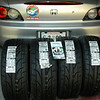 "I decided to try 4 ""Sticker"" Dunlop DIREZZA tires on my S2000 this time. Should have better grip. ..Need all I can get!!"