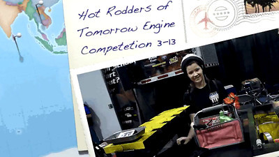 Atlanta-Hot Rodders of Tomorrow Engine Competition March-2013 VIDEO