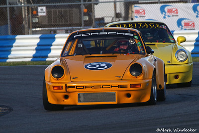 Charles O'Brien III & IV  74'Porsche 911 RSR