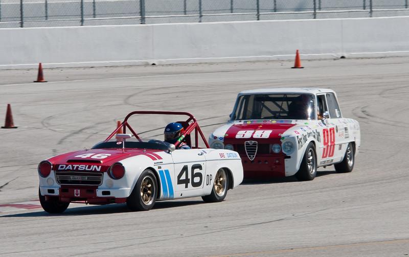 Datsun 2000 vs. Alfa Romeo Giulia Super