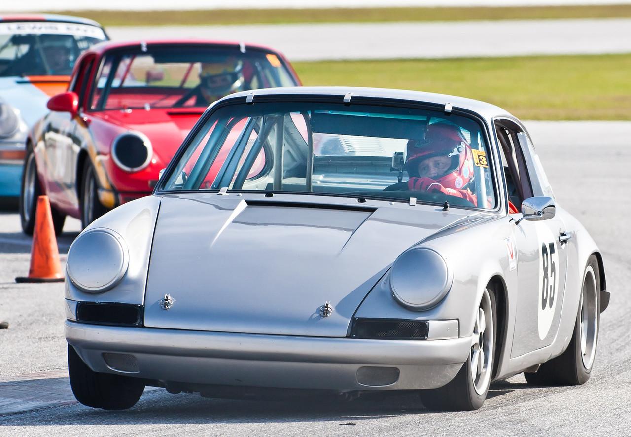 Craig Taylor in '68 Porsche 911S