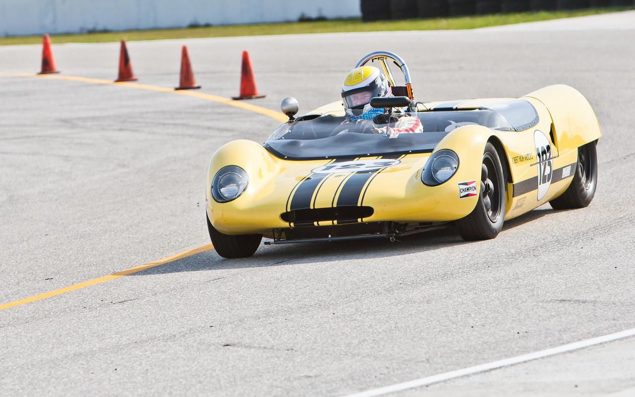 William Binnie in 1963 Lotus 23B 1.6 liter