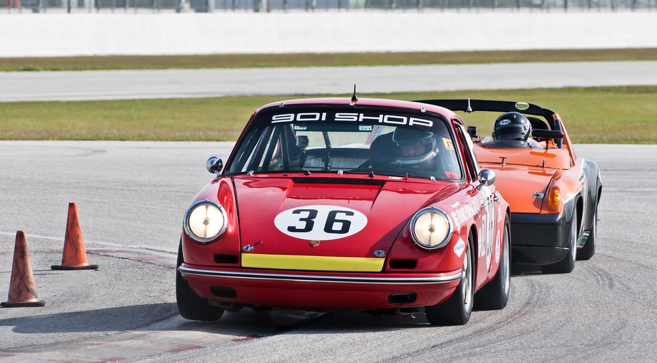 Jerry Peters in '65 Porsche 911 2.0