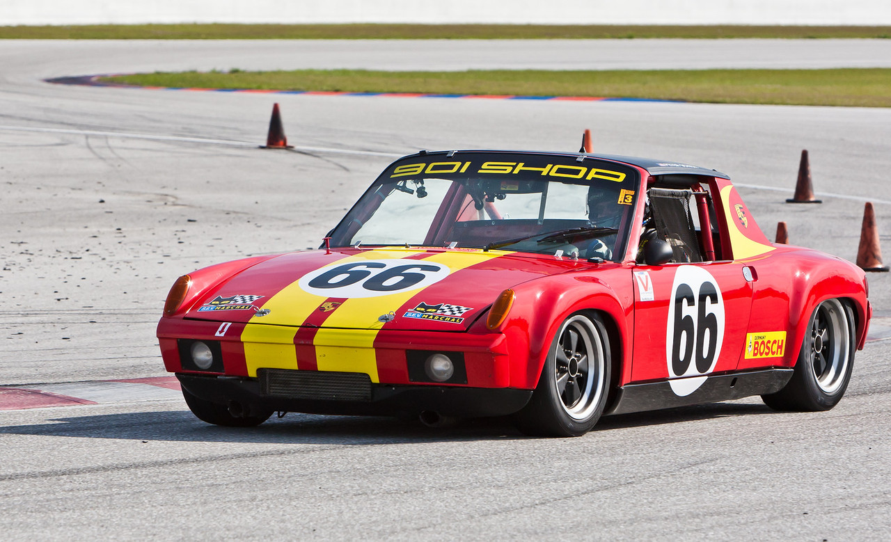 Peter Shick in 1970 Porsche 914/6 2.0 liter