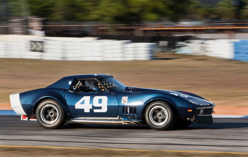 Jim Hudson in 1969 Corvette roadster