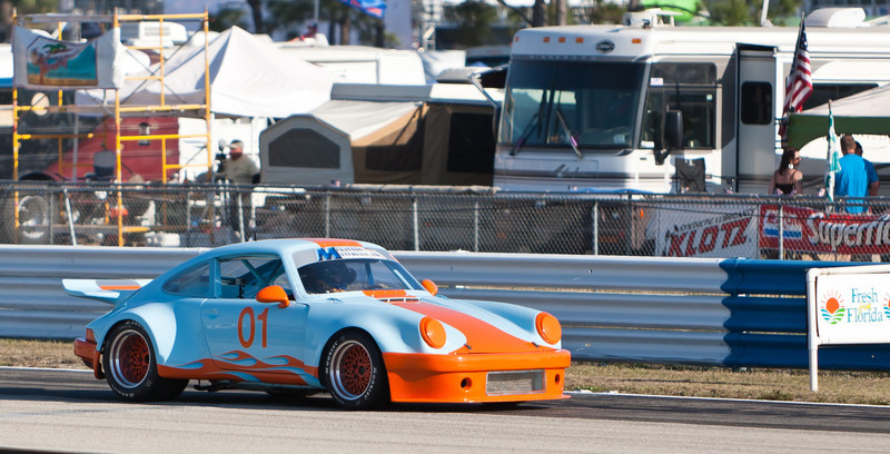 KenMcKinnon in 1972 Porsche RSR