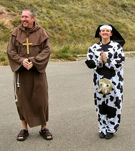 Father and Holy Cow or is it Sister Utterly?