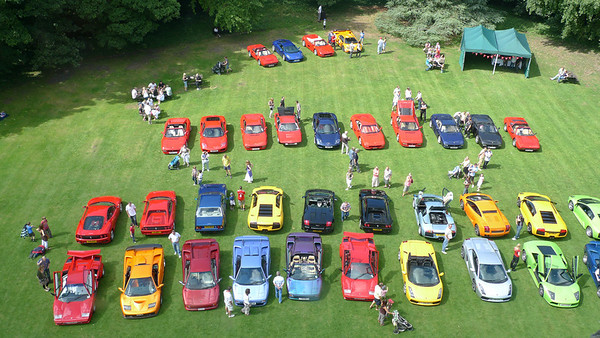 Hedingham Castle Supercar day 2009