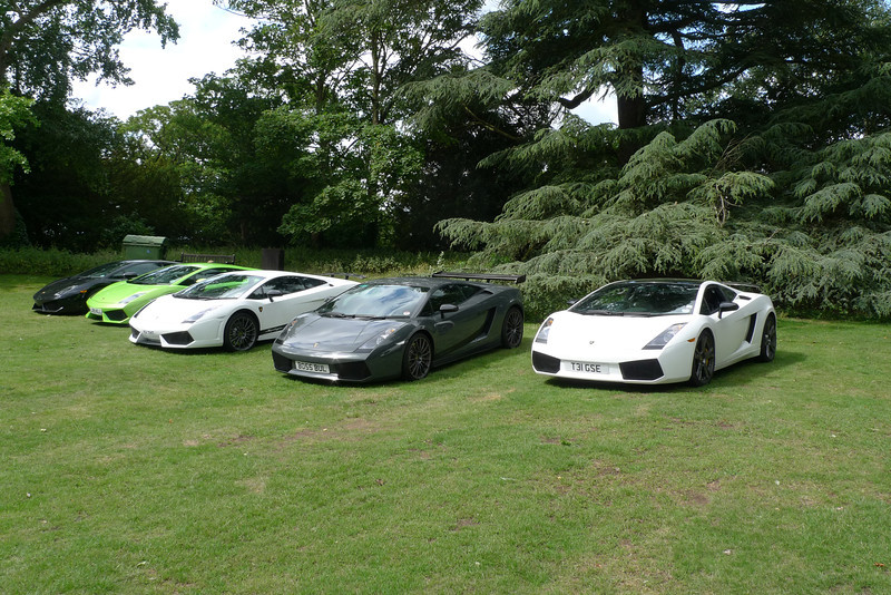 Lamborghini Gallardo 560-4 with Superleggera and 570-4 for company