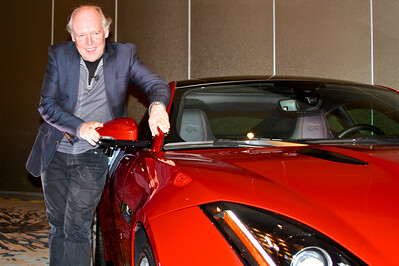 Ian Callum, head of design, Jaguar