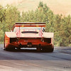 IMSA Road Atlanta GT II (150 miles), September 1981, Turn 11 (bridge); Giampiero Moretti (I) in the right-hand drive MOMO/Penthouse Porsche 935/78-81 (Joest chassis Nr. JR-001) which qualified a strong 3rd, but which DNF'd and was finally classified 22nd.