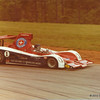 Citicorp Can-Am Challenge, Road Atlanta, May 1979, Turn 4.  Jacky Ickx (B) in the Lola T333CS-Chevrolet entered by Carl A Haas Racing.  Ickx qualified on pole, but finished second, seven seconds behind the Spyder NF-11 of Keke Rosberg (FIN).