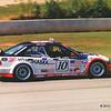 First Petit Le Mans, Road Atlanta, October 1998, back straight; BMW E36 M3, Auberlen / Simo / Pilgrim; F10 (4th in GT3)