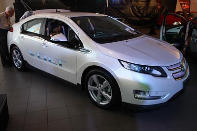 Holden Volt Launch - Environmentally Friendly Hybrid Car - Eagers Holden Brisbane, Wednesday 19 September 2012. Photos by Des Thureson.