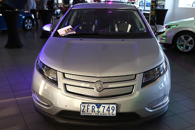 """Holden Volt"" Launch - Eagers Holden; Windsor, Brisbane, Queensland, Australia; 19 September 2012. Photos by Des Thureson - http://disci.smugmug.com & http://disci.photoshelter.com"