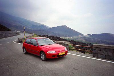 Italy, Etna volcano