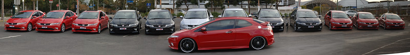 Civic Typer R Front Big Wheels 3 Olympic Park
