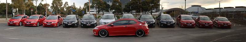 Civic Typer R Front Big Wheels 2 Olympic Park