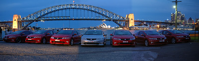 Civic Typer R Harbour Bridge 1
