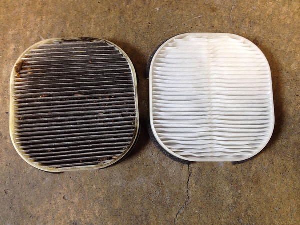 Cabin air filters should be changed occasionally...