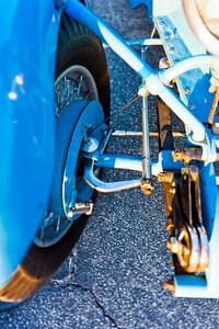 Bugatti cable brake control