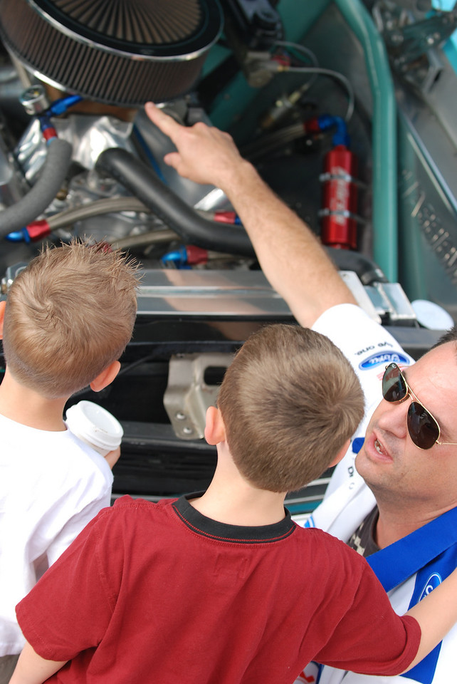 Teaching the next generation of car enthusiasts.