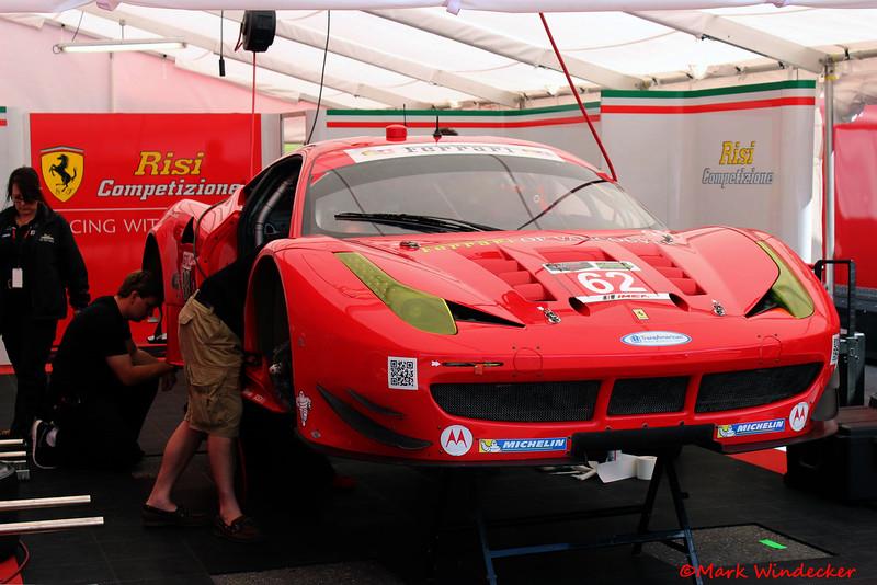 GTLM-Risi Competizione Ferrari F458 Italia