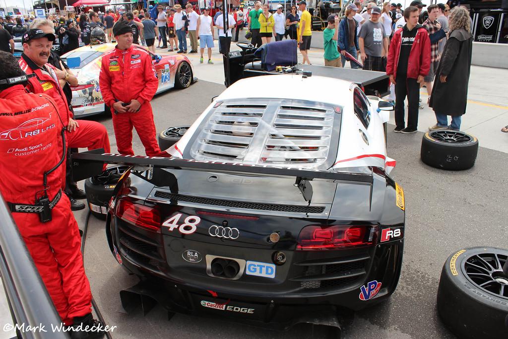 GTD-Paul Miller Racing Audi R8 LMS