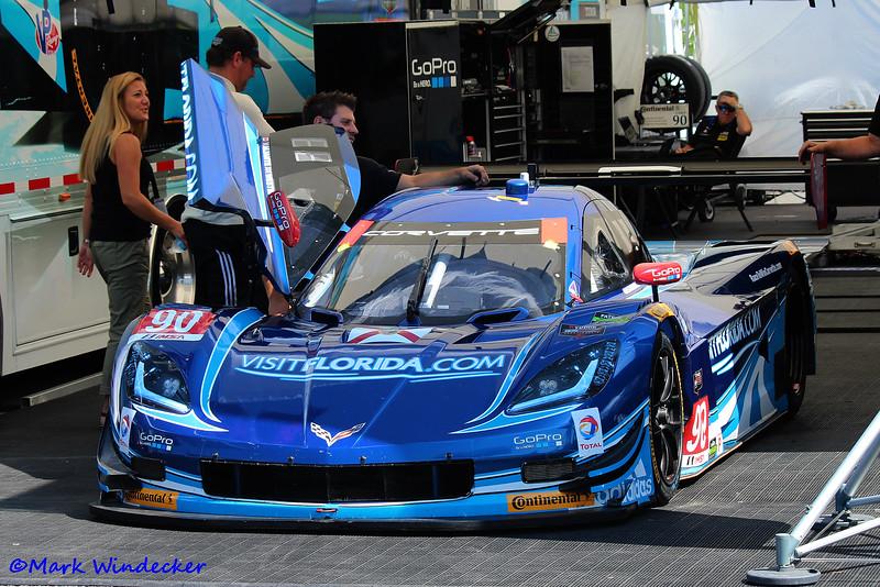 P-Spirit of Daytona Corvette DP