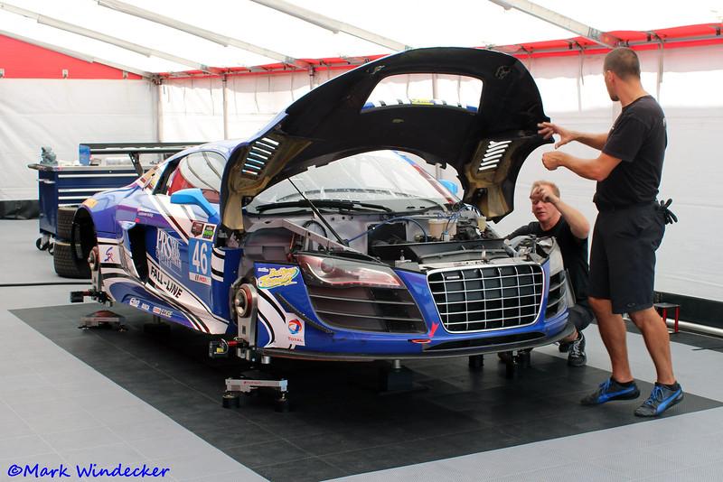 GTD-Fall-Line Motorsports Audi R8 LMS