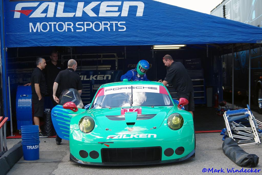 GTLM Team Falken Tire Porsce 911 RSR