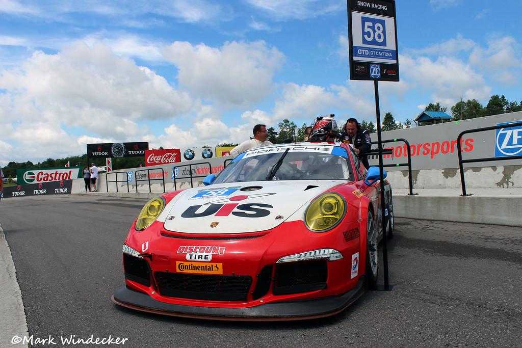 GTD-Snow Racing Porsche 911 GT America